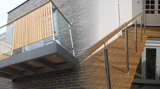 Balcony Addition and Restructuring