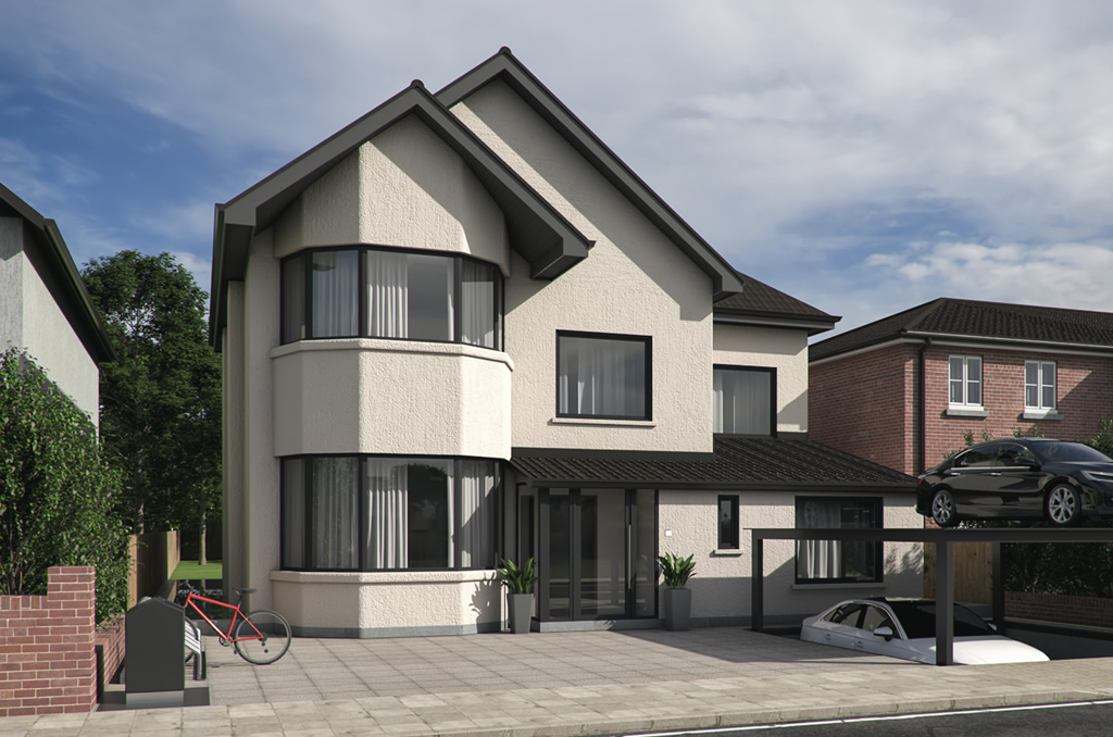 2-Story Building with 2-Level Basement